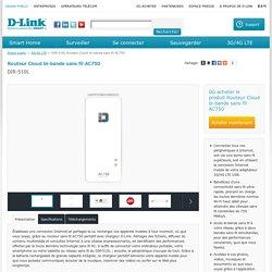 DIR-510L Routeur Cloud bi-bande sans fil AC750