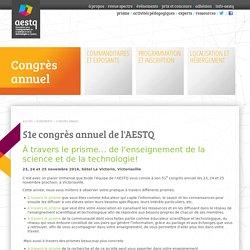 AESTQ: l'enseignement de la science et de la technologie au Québec