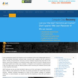 +971-523252808 Computer Data Recovery Services in Dubai, UAE