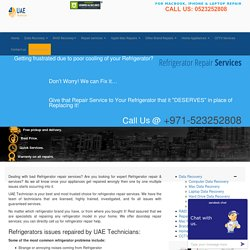 +971-523252808 Refrigerator Repair Services in Dubai