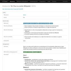 54- Pour ou contre Wikipedia
