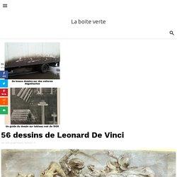 56 dessins de Leonard De Vinci
