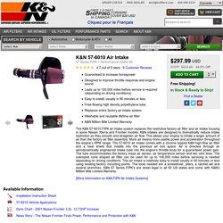 K&N 57-6010 Air Intake, 57 Series FIPK