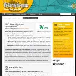EMC 5ème - Egalité et discriminations