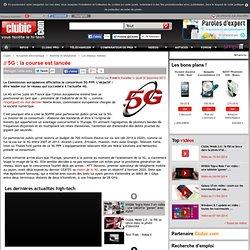 5G : la course est lancée