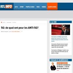 5G: de quoi ont peur les ANTI-5G?