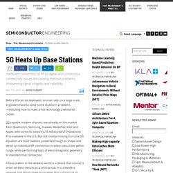 5G Heats Up Base Stations