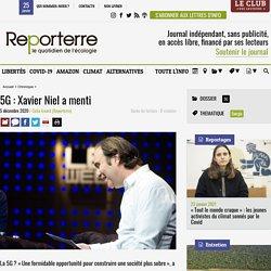 5 déc. 2020 - 5G: Xavier Niel a menti