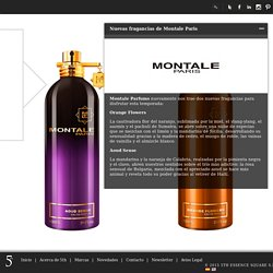 5thEssenceSquare » Nuevas fragancias de Montale Paris
