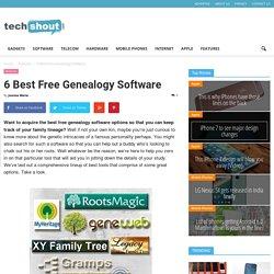 6 Best Free Genealogy Software