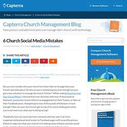 6 Church Social Media Mistakes