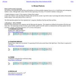 6. Drum Pattern
