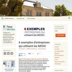 6 entreprises qui utilisent les MOOC