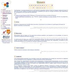 Glossaire - Intelliterwal