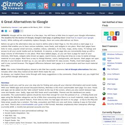 6 Great Alternatives to iGoogle