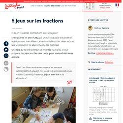 Beneylu Pssst - 6 jeux sur les fractions