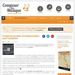 6 logiciels gratuits pour composer