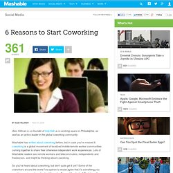 6 Reasons to Start Coworking