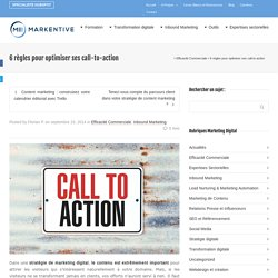 6 règles pour optimiser ses call-to-action