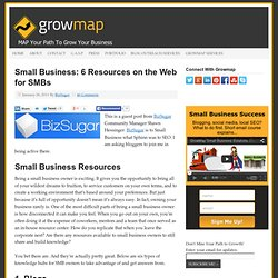 Small Business: 6 Resources on the Web for SMBs