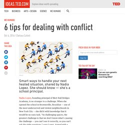 6 tips for dealing with conflict
