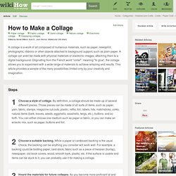 6 Ways to Make a Collage