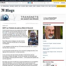 6257! ou l'histoire du web au Web 2.0 Summit - Transnets - Blog