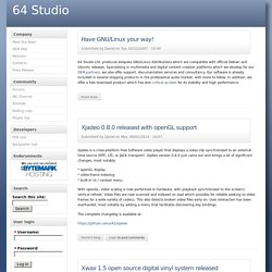 64 Studio | Have GNU/Linux your way!
