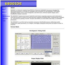 6800 Emulator