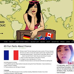 A Tale of a Thousand Cities: 69 Fun Facts About France - StumbleUpon