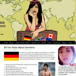A Tale of a Thousand Cities: 69 Fun Facts About Germany
