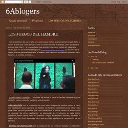 6Ablogers: LOS JUEGOS DEL HAMBRE