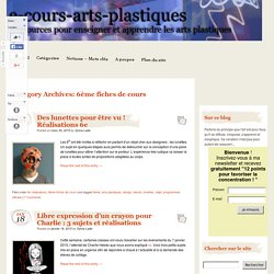 e-cours-arts-plastiques (6e - Fiches de Cours)