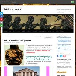 6H4 : Le monde des cités grecques