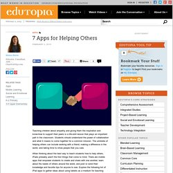 7 Apps for Helping Others