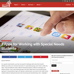 7 Apps for Special Needs Students