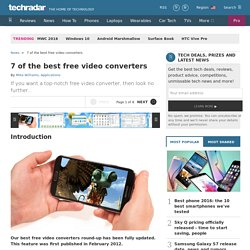 Best free video converter: 12 on test