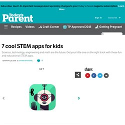 7 cool STEM apps for kids