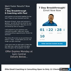 7 Day Breakthrough