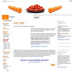 7 day diet menu - 7 Day Diet Plan - Day 1