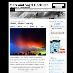 7 Deadly Sins of Creativity