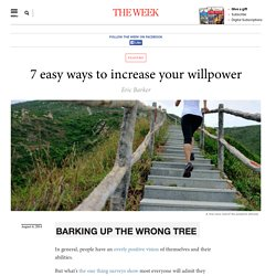 7 easy ways to increase your willpower