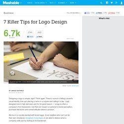7 Killer Tips for Logo Design