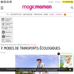 7 modes de transports écologiques