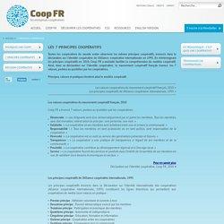 7 principes coopératifs