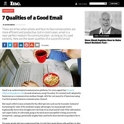7 Qualities of a Good Email