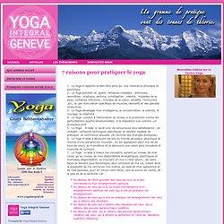 7 raisons pour pratiquer le yoga
