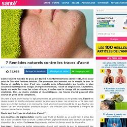 7 Remèdes naturels contre les traces d'acné