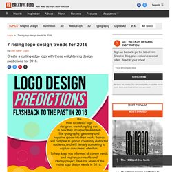 7 rising logo design trends for 2016