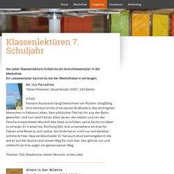 7. Schuljahr - mediobaar.ch